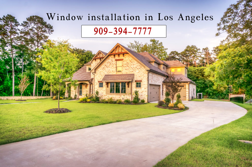 window installation in los angeles